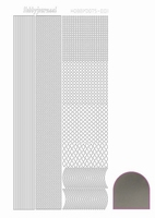 Stickervel Hobbydots Mirror STDM018 zilver