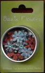 Bazix Petaloo florettes Glitter BF2008 Kerst
