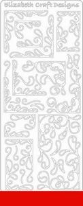Elizabeth Craft Designs Sticker 0359 Hoeken
