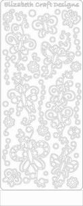 Elizabeth Craft Designs Sticker 0362 Doodle vlinders