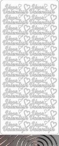 Tekststicker Peel-off 1638 Voor Valentijn