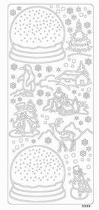 Stticker 0339 Sneeuwbolwit