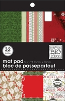 Me & my big ideas Mat stack paper pad MPS-36 holiday