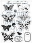 MD Clear stamps EC0119 Eline's huis butterfly