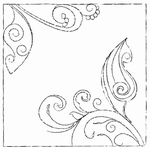 MD Clear stamps CS0842 swirl fantasy