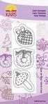 Clear stamp Kitty de Wolf 522 Kerstversiering