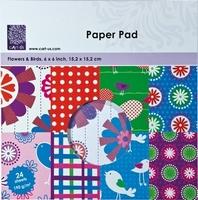 Paper pad cArt-us 0012 Flowers & birds