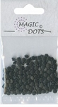 Magic Dots - Flower MDF006 Black