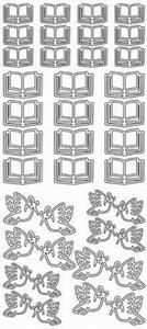 Sticker Religie Jeje 1662 Vredesduif/bijbel Peace dove/bible