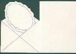 Stanskaart Enveloppekaart Créme