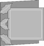 Romak stanskaart Vierkant hulst 23 rood