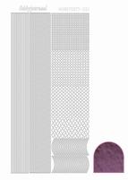 Stickervel Hobbydots Mirror STDM016 violet/lila