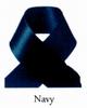 Satijn lint 3mm donkerblauw