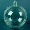 Plastic transparant bal 2-delig