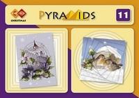 Carddeco Pyramids P011 Merry Christmas