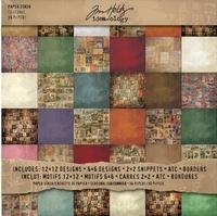 Paper pad Tim Holtz TH92866 Seasonal