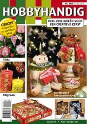 Hobbyhandig 158 nov/dec 2010 een creatieve kerst