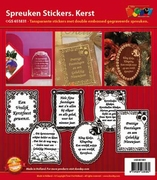 Doodey Spreuken stickers GS651831 Kerst