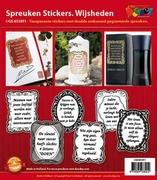 Doodey Spreuken stickers GS651811 Wijsheden
