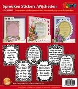 Doodey Spreuken stickers GS651801 Wijsheden