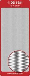 Sticker Doodey DD6581 Fijne randen Waves/golfjes