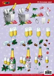 A4 Knipvel Cynthia DV66001 Champagne