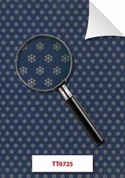 Kerst patroonpapier TT0725 sneeuwsterren blauw goud