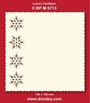 Doodey Luxe oplegkaart stans BPM5713 Sterrenrand