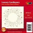 Doodey Luxe oplegkaart stans BPM5721 Vuurwerk