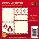 Doodey Luxe oplegkaart stans BPM5723 setje