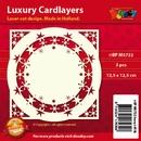 Doodey Luxe oplegkaart stans BPM5722 Sterrencirkel