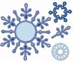 Spellbinders S4-286 Shapeabilities Snowflake Pendants