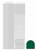 Stickervel Hobbydots adhesive STDA011 groen