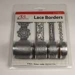 Lace Borders 2399 Love Silver