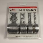 Zelfklevend Lace Borders BL382399 Love Silver