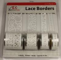 Zelfklevend Lace Borders BL383099 Baby Boy White