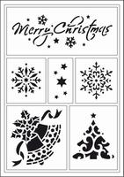 Viva My Paper World Vinylsjabloon 6771 Merry Christmas