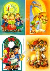 Hobbypost A5 Knipvel Kinderen zingen