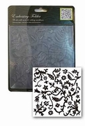 Craft Collection embossing folder CCC4009 floral