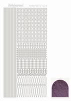 Stickervel Hobbydots mirror STDM036 violet/lila