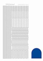 Stickervel Hobbydots Mirror STDM02A donkerblauw