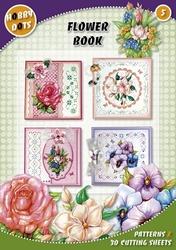 Hobbydots  5 - Flower Book + 7 stickers