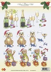 A4 Kerstknipvel Ann's Paper Art CD10110 Ann`s Christmas 2
