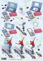 3D Kerstknipvel Anne Design VBK 2573 Kerstdecoraties
