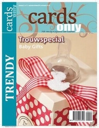Scrap tijdschrift Cards Only nr 15 trouwspecial