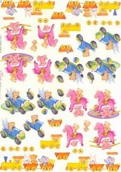 Knipvel A4 Mireille E642 Speelgoed