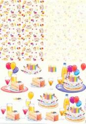 Knipvel A4 Mireille Duo E643 Verjaardag