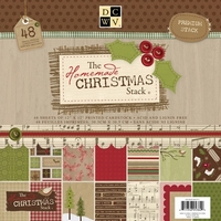 DCWV Cardstock stack Homemade christmas 3