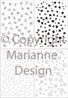 MD Clear stamps CS0846 Decoration letters and more