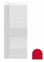 Stickervel Hobbydots Adhesive STDA044 red
